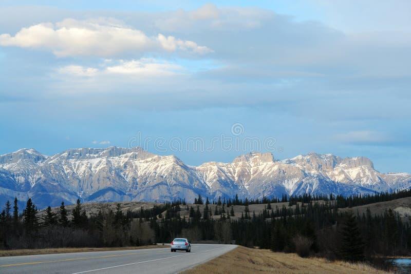 Canadese rockies van de lente royalty-vrije stock foto's