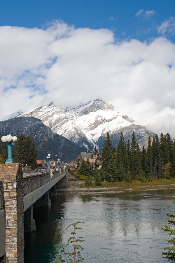 Canadese Rotsachtige Bergen stock foto's
