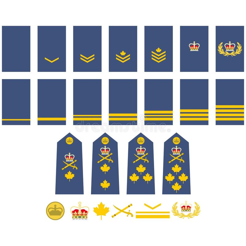 Download Canadian Air Force Insignia Stock Vector - Image: 41886697