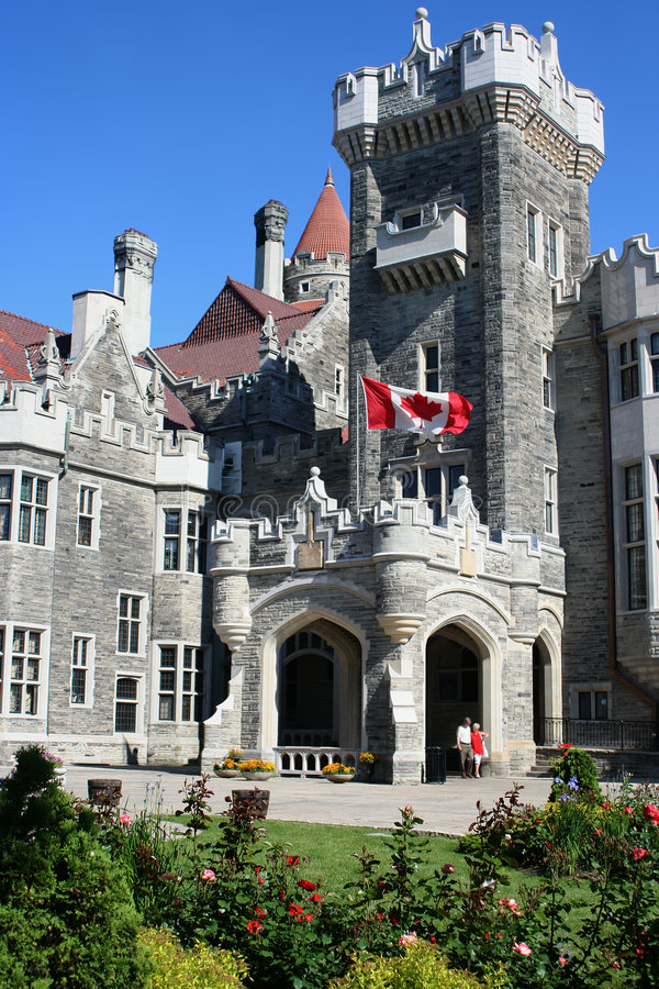 Free Canadian Castle Royalty Free Stock Photo - 874885
