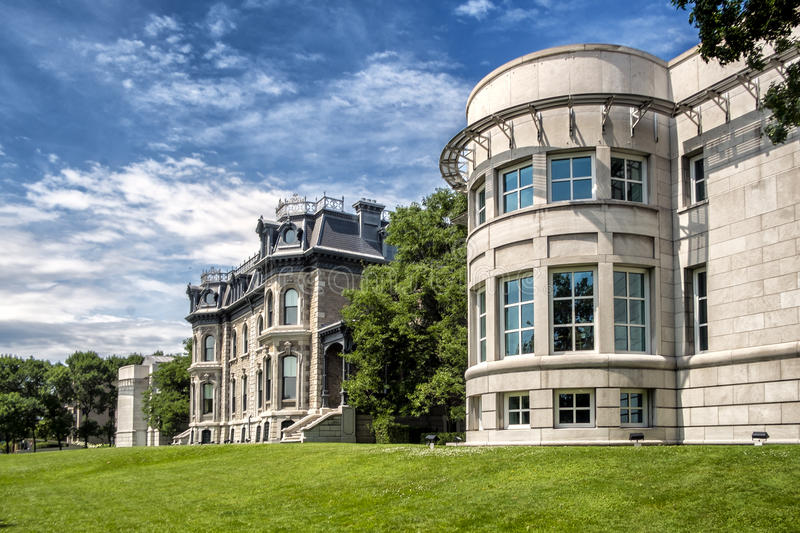 The Canadian Centre for Architecture CCA. French: Centre canadien d`architecture is a museum of architecture and research centre in Montreal, Quebec, Canada. It stock photos