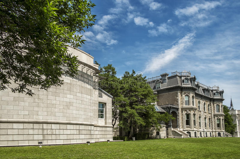 The Canadian Centre for Architecture CCA. French: Centre canadien d`architecture is a museum of architecture and research centre in Montreal, Quebec, Canada. It royalty free stock photography