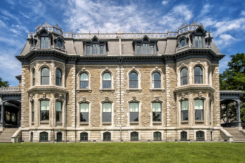 The Canadian Centre for Architecture CCA. French: Centre canadien d`architecture is a museum of architecture and research centre in Montreal, Quebec, Canada. It royalty free stock images