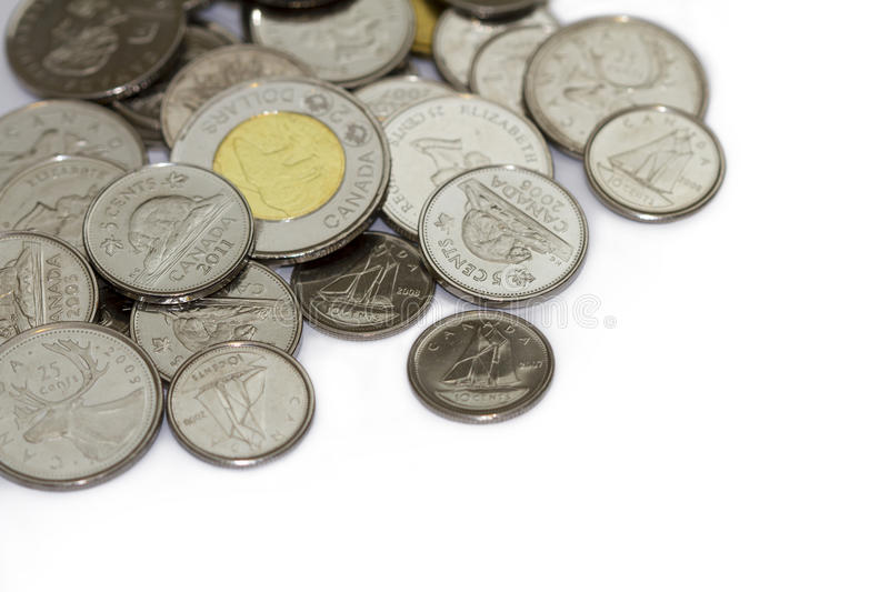 Download Canadian Coins editorial image. Image of rich, loose - 30277690
