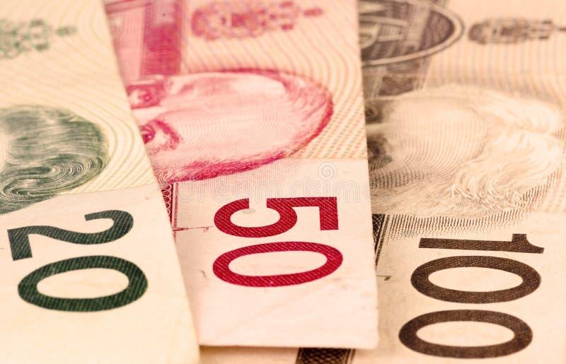 Canadian Dollar Bills Royalty Free Stock Photo
