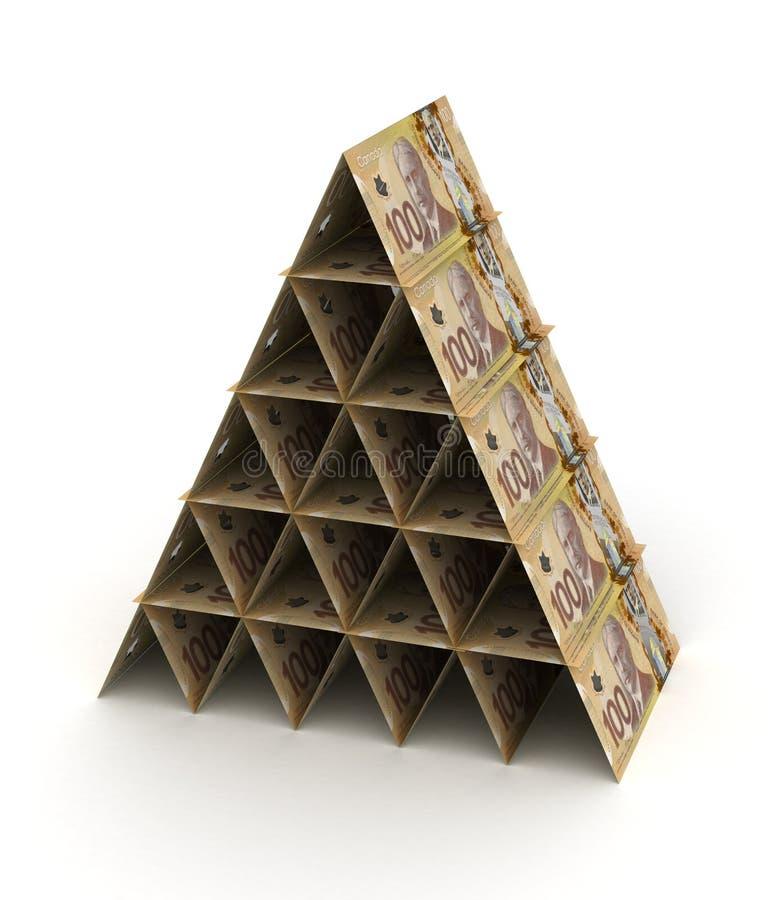 Free Canadian Dollar Pyramid Stock Photos - 35113793