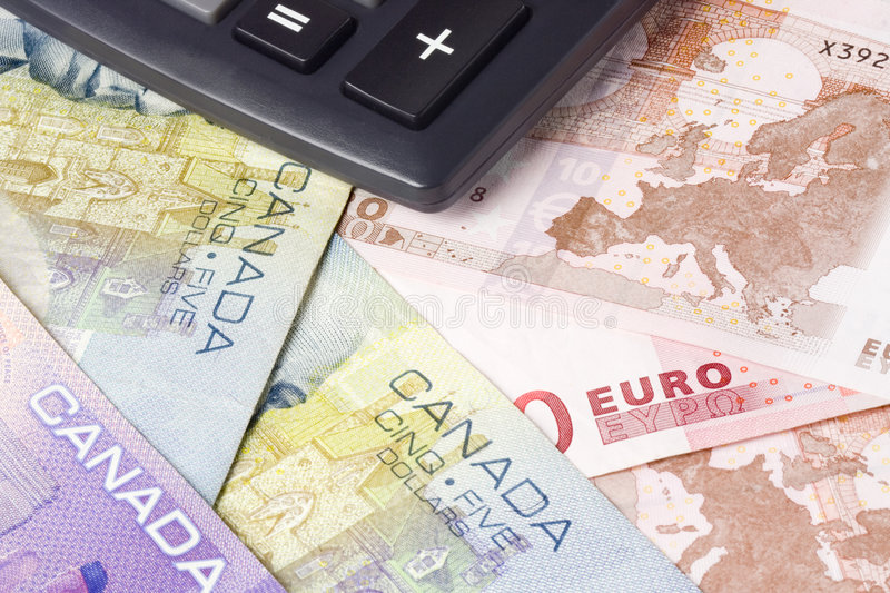 Canadian and Euro currency pair