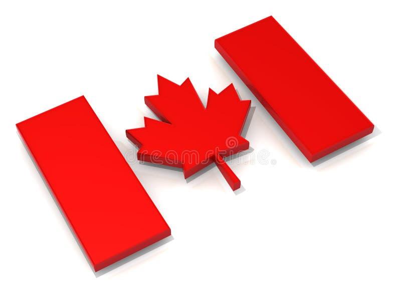 Download Canadian flag stock illustration. Image of national, nation - 10111142