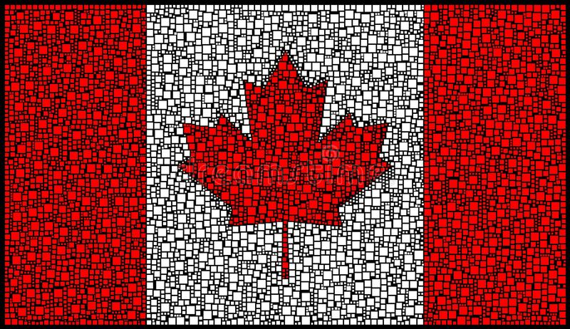 Canadian Flag Stock Photography