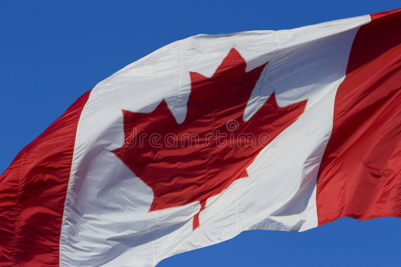 Download Canadian flag stock photo. Image of maple, high, national - 758294