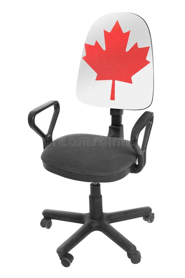 The Canadian flag stock images