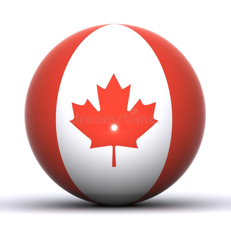 Download Canadian Globe stock illustration. Illustration of canada - 7580533