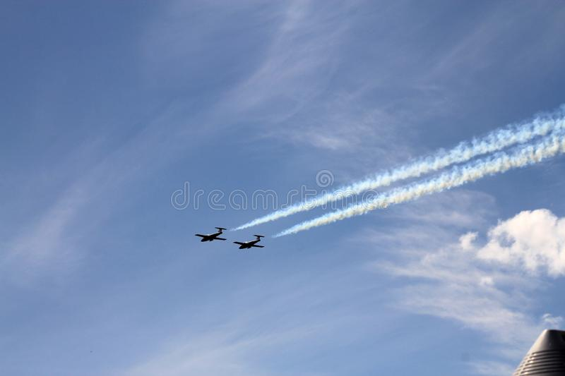 Avia Show royalty free stock images