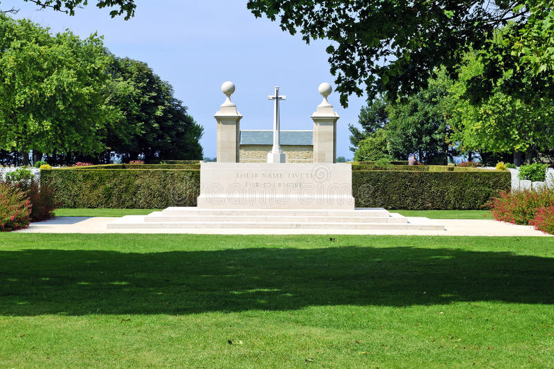 Download Canadian Memorial And Cemetery In Normandy Stock Image - Image: 20391123