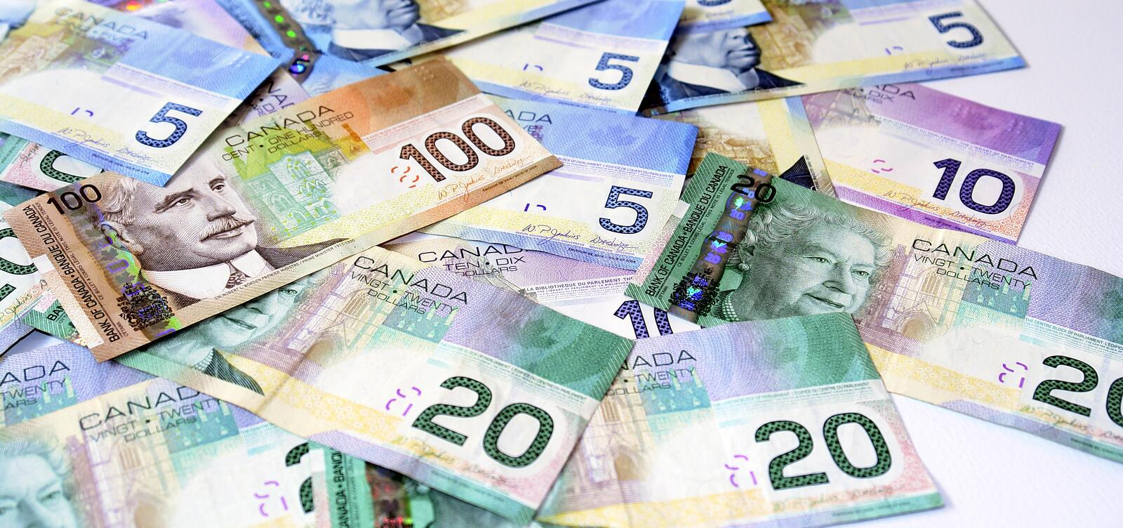 Canadian Money Currency royalty free stock photos