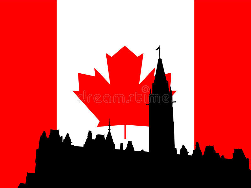 Download Canadian Parliament Building Stock Vector - Image: 944772