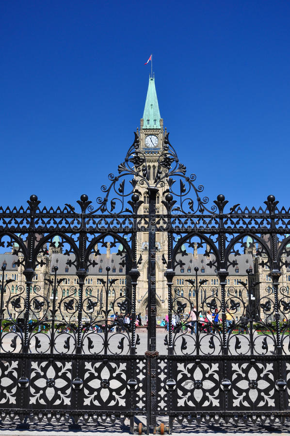 Download Canadian Parliament Building In Ottawa Stock Image - Image: 37690429