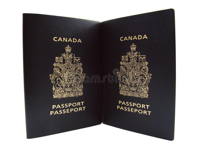 Canadian Passports Stock Image
