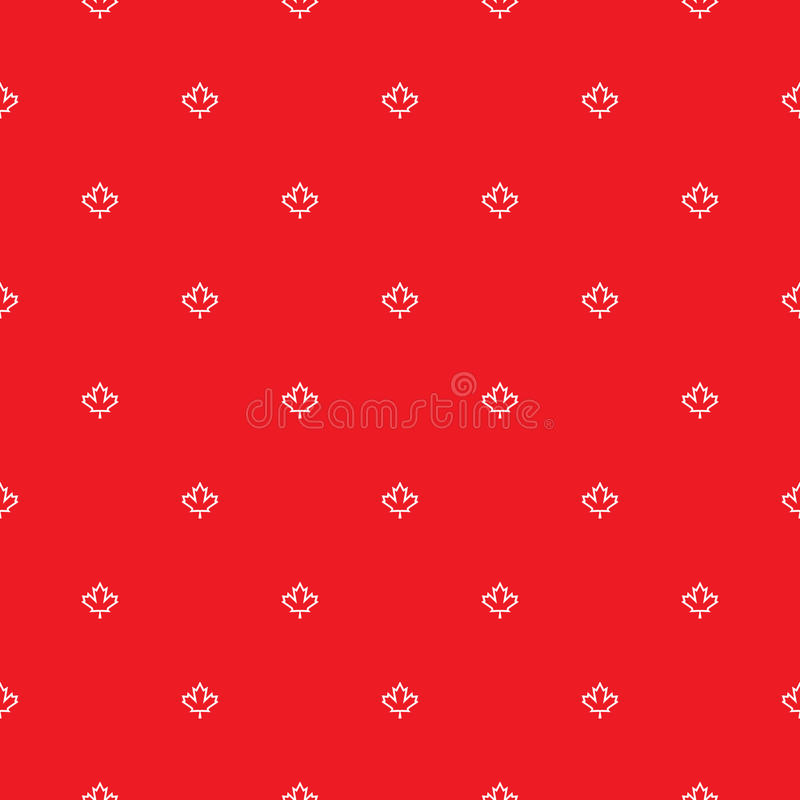 Canadian Pattern royalty free stock photography