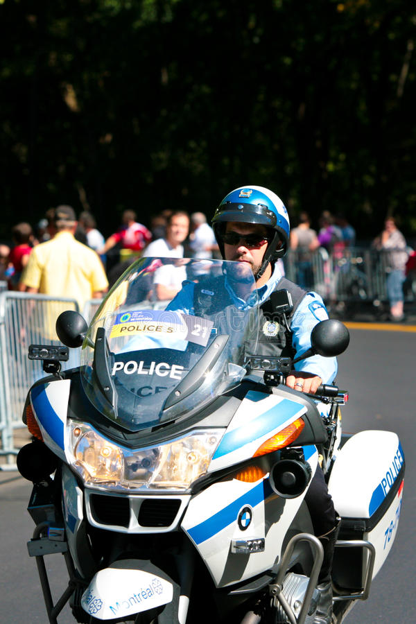 Download Canadian Police Officer On A Motor Bike Editorial Photo - Image: 23094451