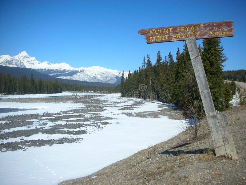 Canadian Rockies royalty free stock photography