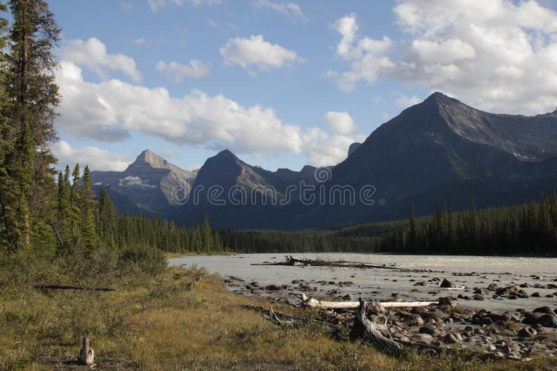 Canadian Rockies royalty free stock photos