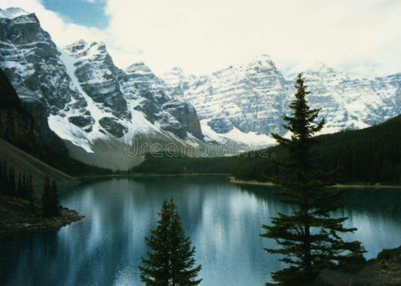 Canadian Rockies lake 2 royalty free stock photo