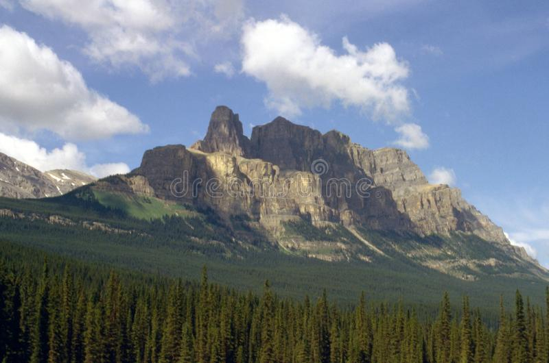 Mountains in Banff royalty free stock image