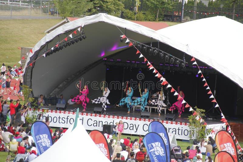 Canadian Sikh Celebrations royalty free stock photos