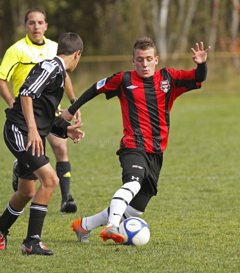 Download Canadian Soccer Alberta Dribble Editorial Stock Photo - Image: 16438808