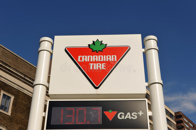 Download Canadian Tire Gas Station Sign Editorial Photography - Image: 21071177