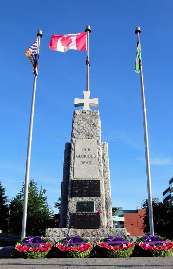 Canadian War Memorial royalty free stock images