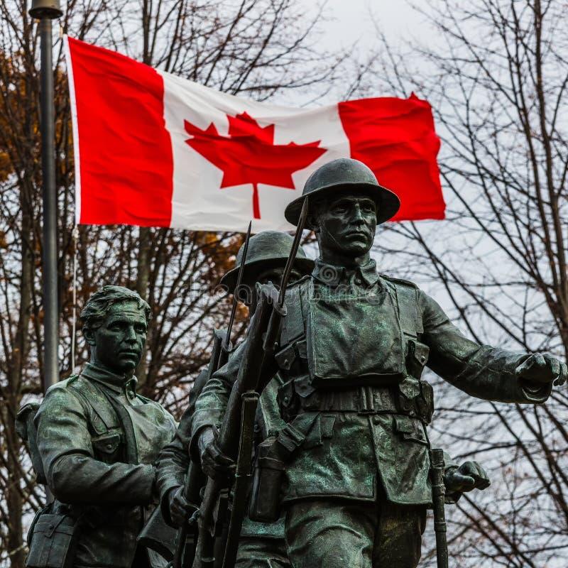 Canadian War Memorial stock photos