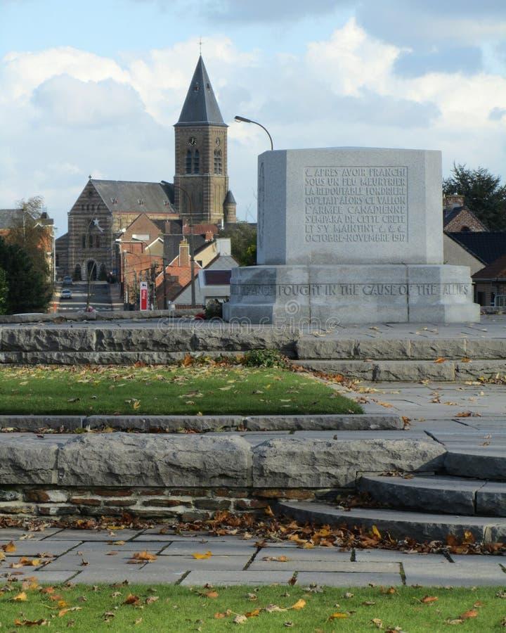 Canadian War Memorial stock photography