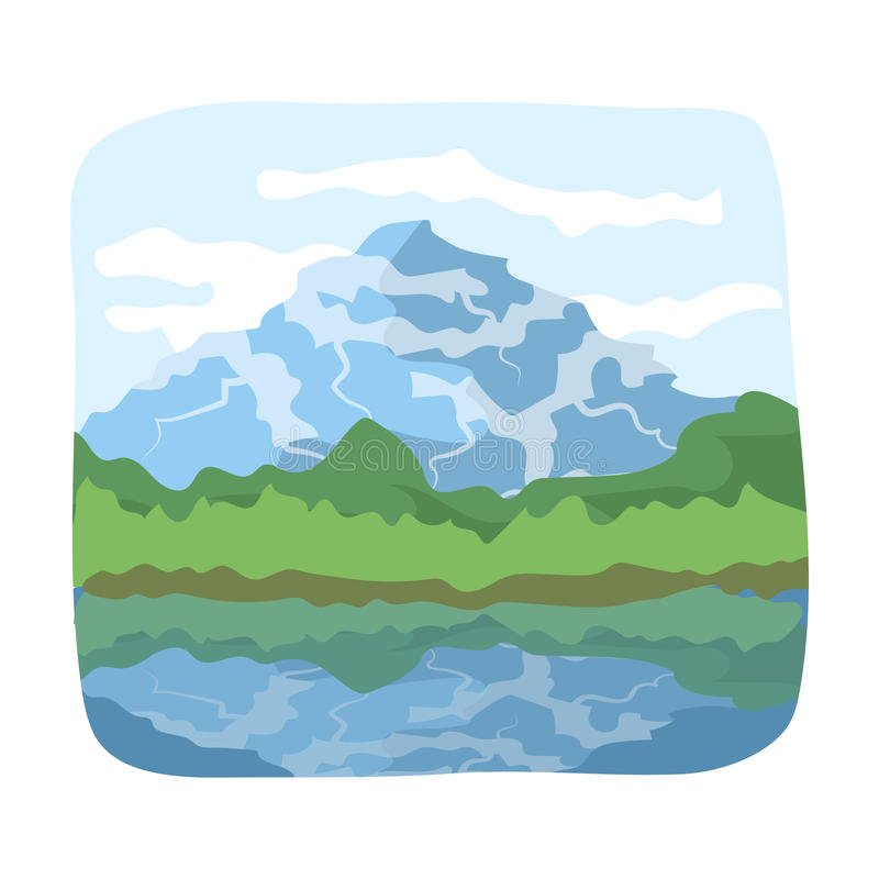 Free Canadian Waterfall. Canada Single Icon In Cartoon Style Vector Symbol Stock Illustration Web. Royalty Free Stock Photography - 90353297
