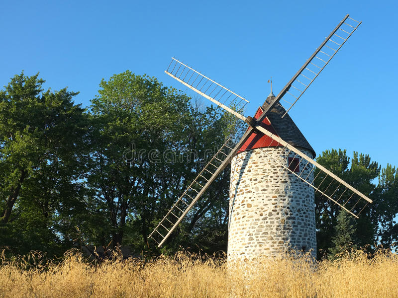 Download Canadian windmills stock photo. Image of flour, four - 32269544