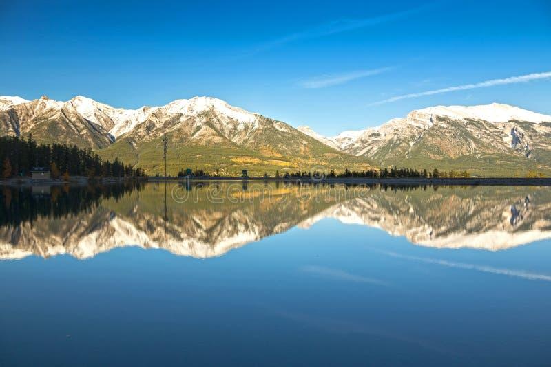 Canadien Rocky Mountain Autumn Landscape photo stock