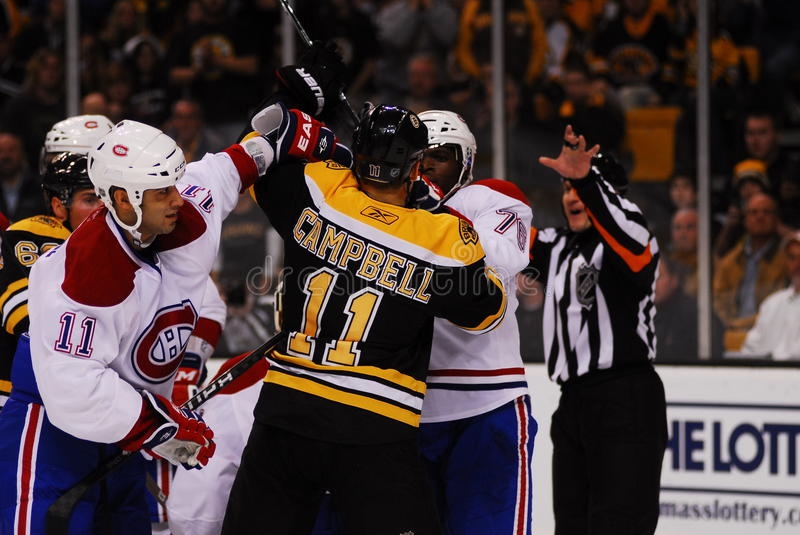 Download Canadiens-Bruins rivalry editorial photography. Image of winter - 16934202