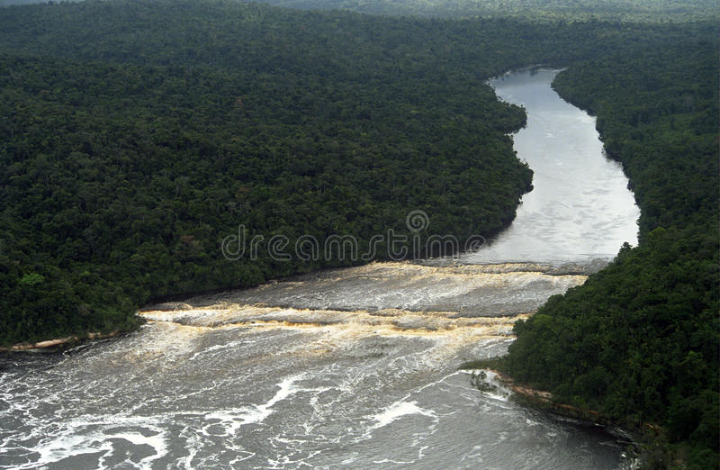 canaima委内瑞拉waterworld 库存图片