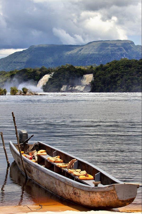 Canaima Laguna στοκ φωτογραφία