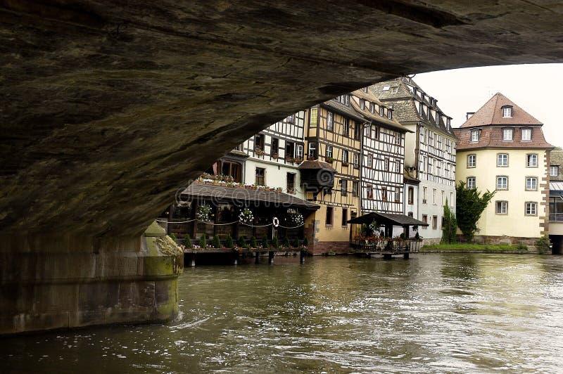 Canais 1 de Rhine imagem de stock