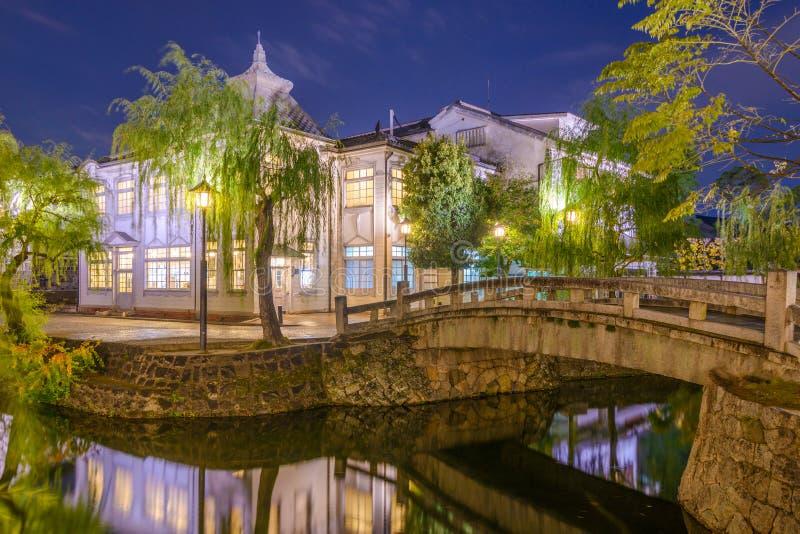 Canais de Okayama foto de stock royalty free