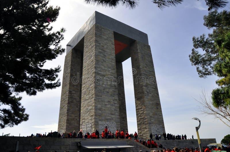Canakkale, Gelibolu/Gallipoli, monument de la Turquie photo stock