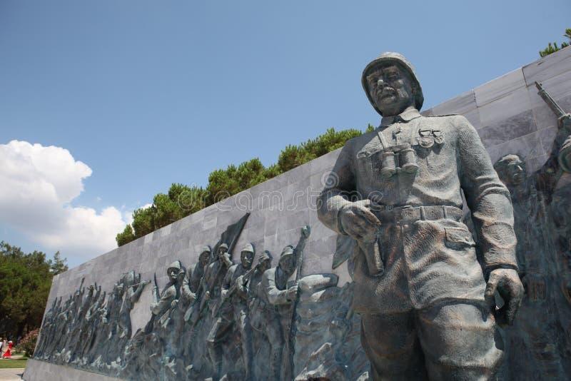 Canakkale Martyrs il memoriale immagine stock libera da diritti
