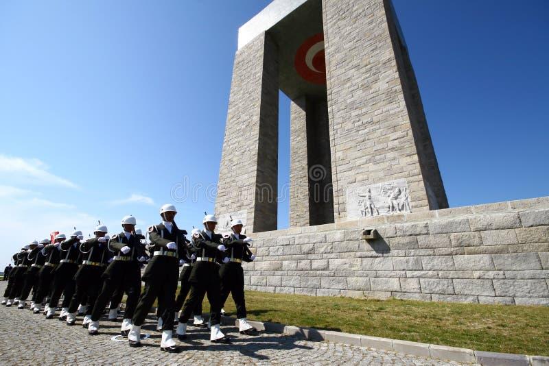 Canakkale Martyrs le mémorial photo libre de droits