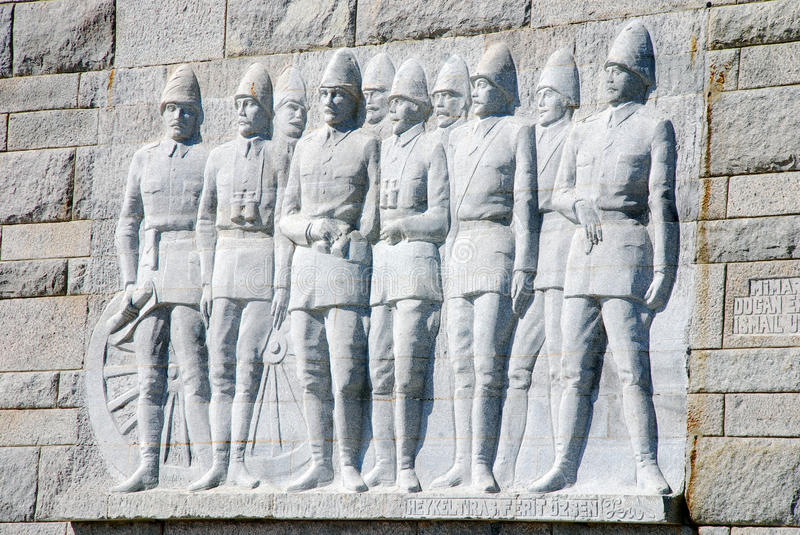 Download Canakkale Martyrs Memorial stock image. Image of world - 31775911