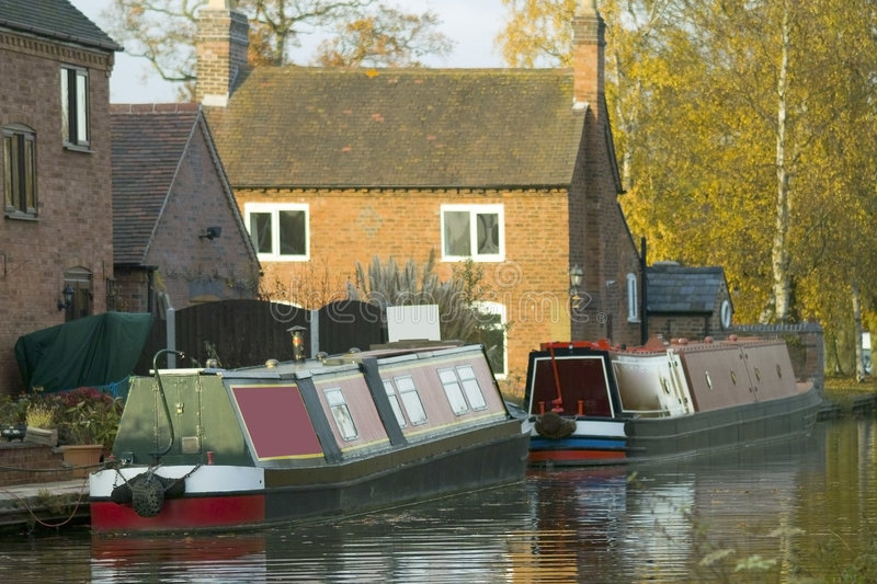 Canal photo stock