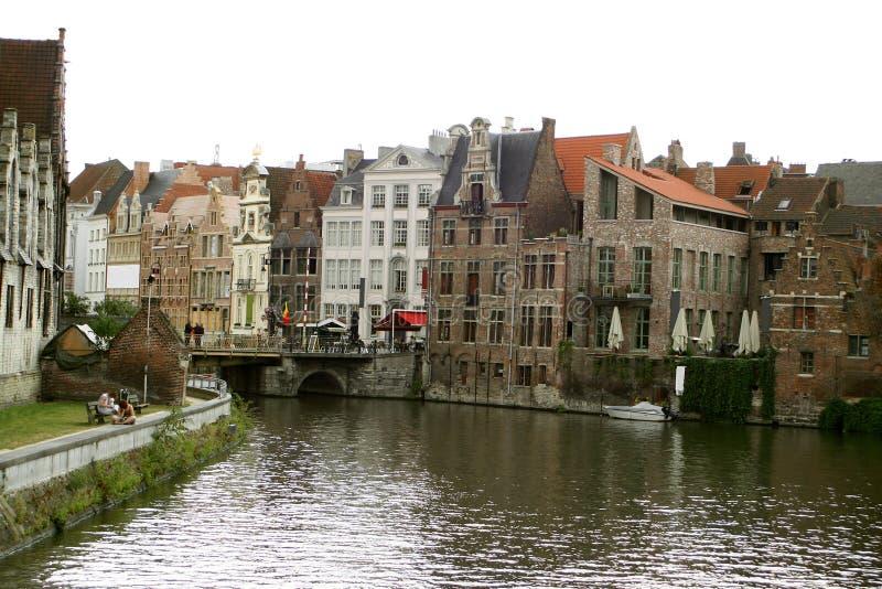 Canal belge image libre de droits