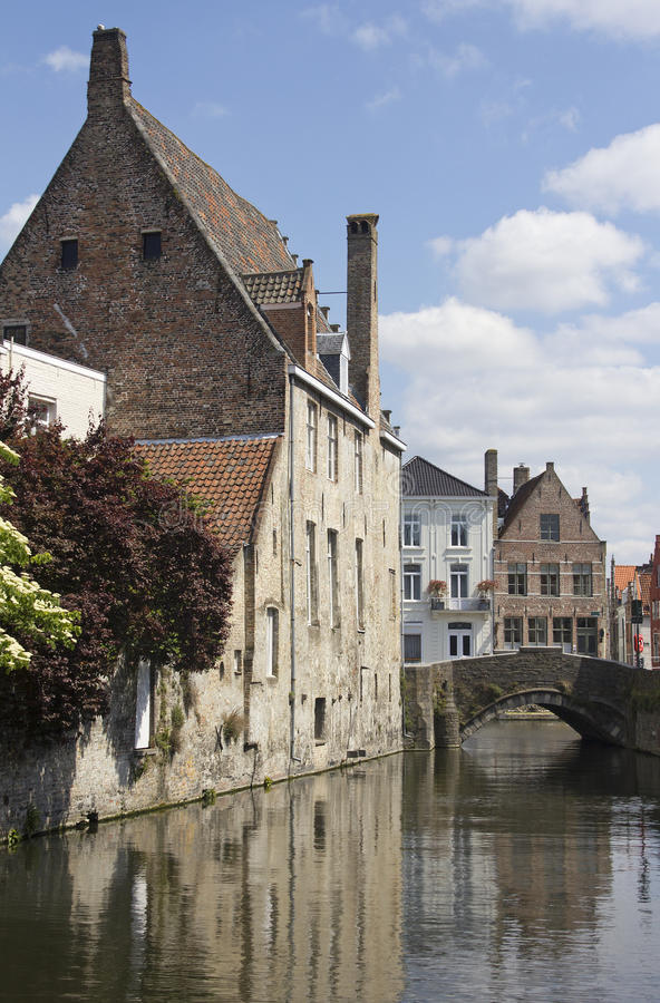 Download Canal in Bruges, Belgium stock photo. Image of bruges - 25406624