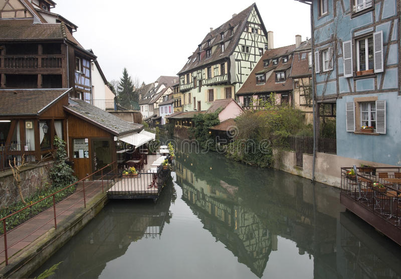 Canal In Colmar Royalty Free Stock Image